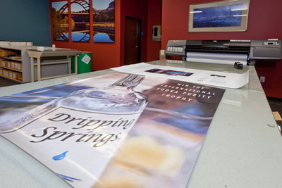 Austin Digital Printing allows you to print what you want, when you want it, and in the quantity you need